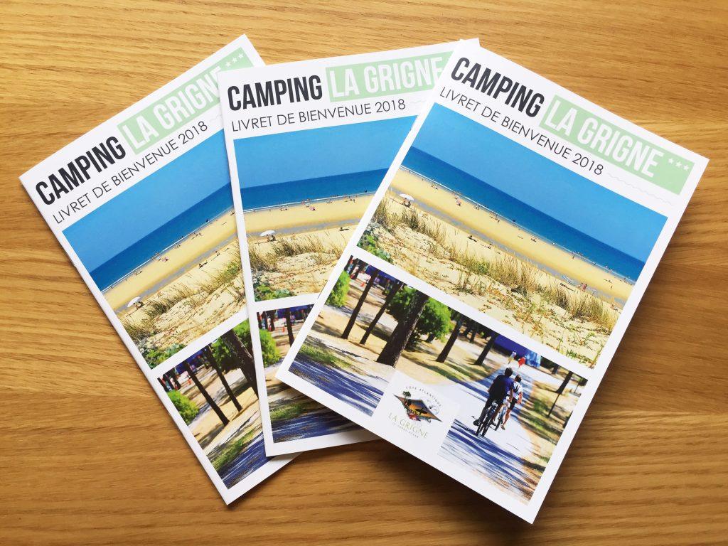 Livret d'accueil Camping La Grigne