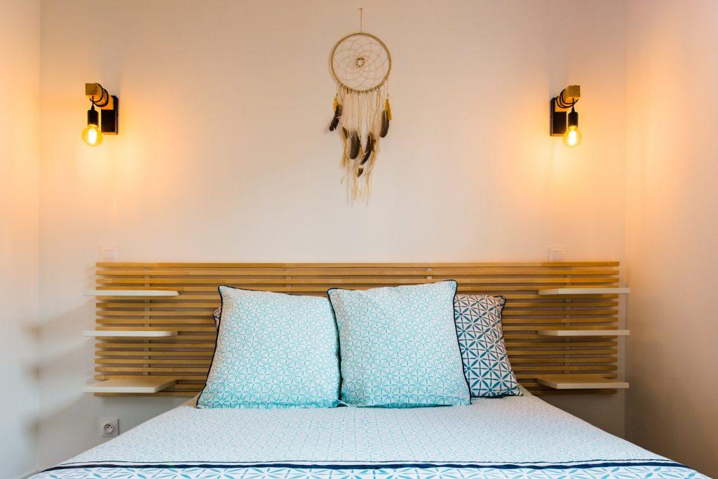 Ola Lodge - Le Porge, avec sa chambre séparée pour 2