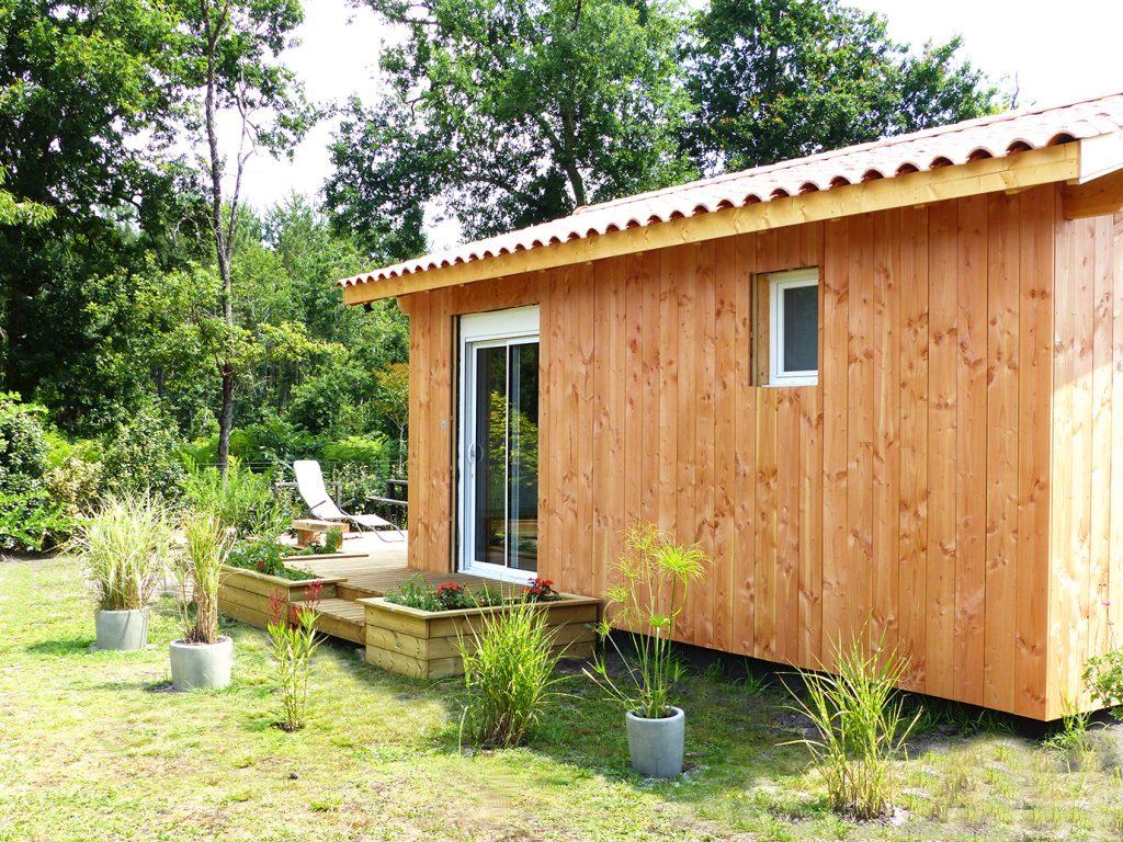 Ola Lodge, notre cabane au Porge depuis 2018