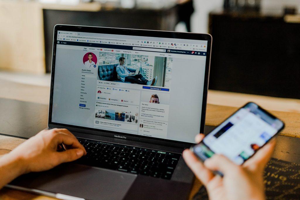 Lien social vers votre site