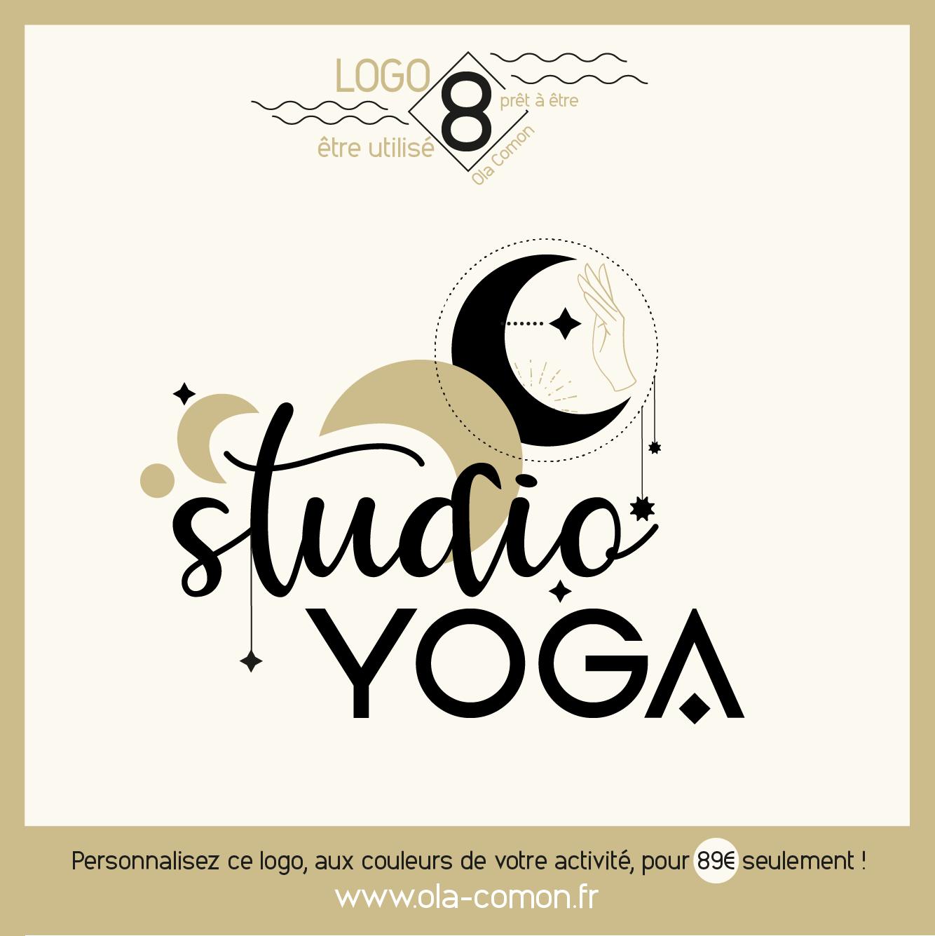 Logo 8 Ola Comon ~ prêt à utiliser